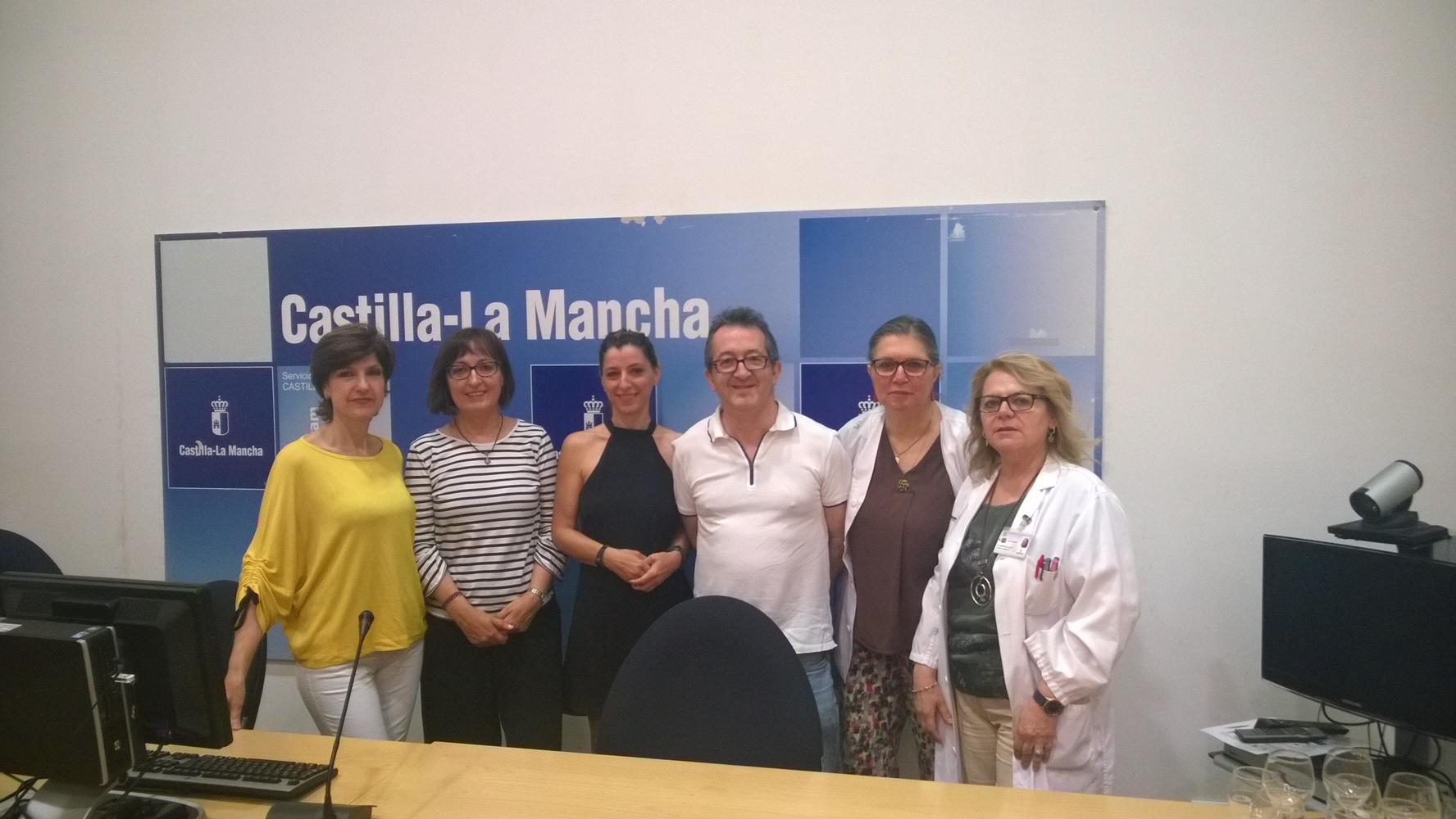 Presentación de la Asociación en el Hospital General de Ciudad Real