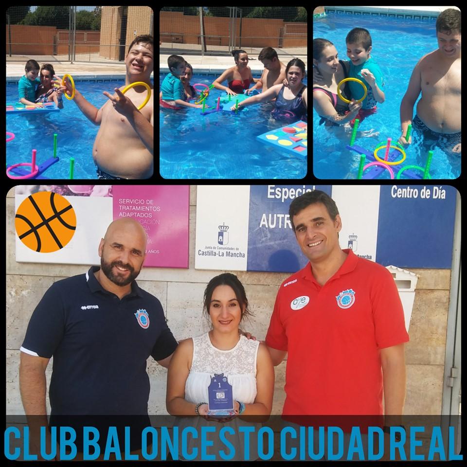 Club Baloncesto Ciudad Real visita la Escuela de Verano