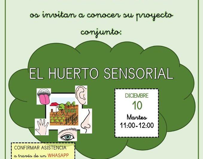 Presentación del Huerto sensorial